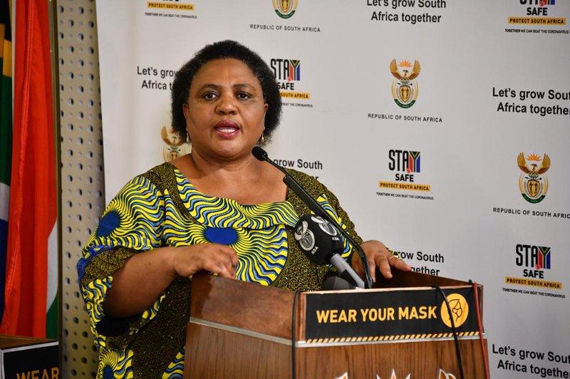 Minister of Agriculture Thoko Didiza
