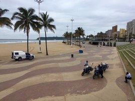 Durban beach - 16 Dec 2020