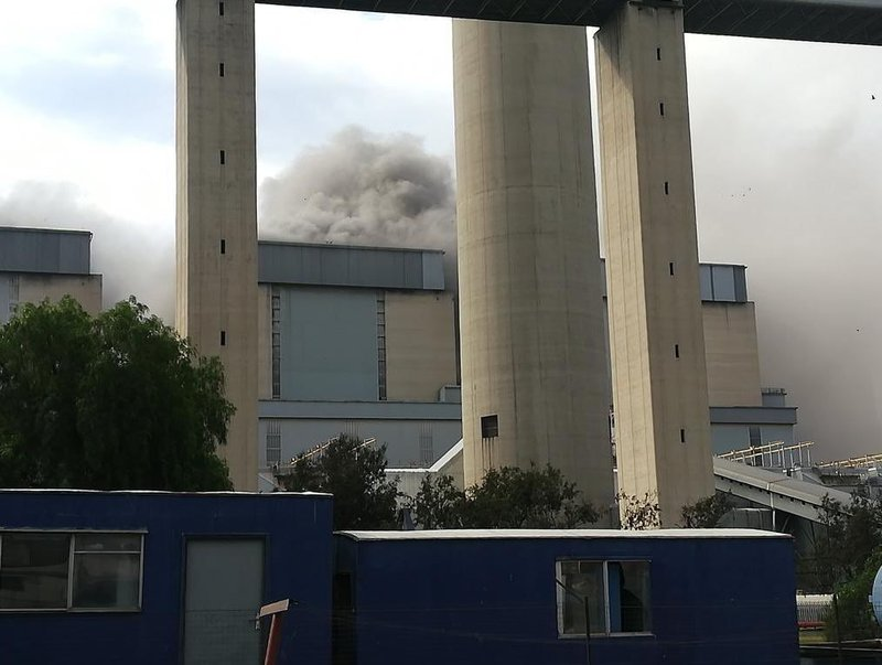 One killed, another critically injured at Eskom power station
