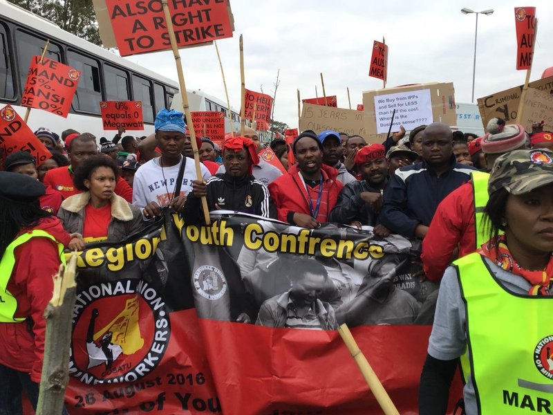 It's back to the negotiation table for Eskom, unions