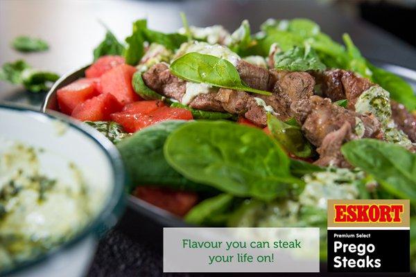 Prego Steak & Watermelon Salad