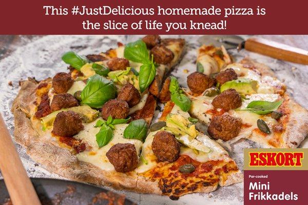 Quick & Easy Mini Frikkadel Pizza