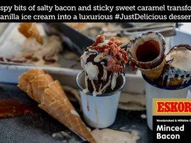 Bacon and Caramel Ice Cream