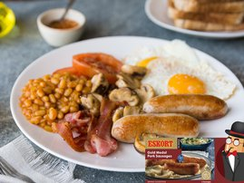Eskort Full English Breakfast