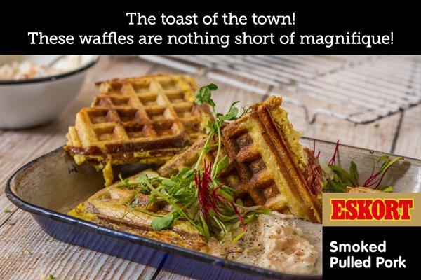 Stuffed French Toast Waffles