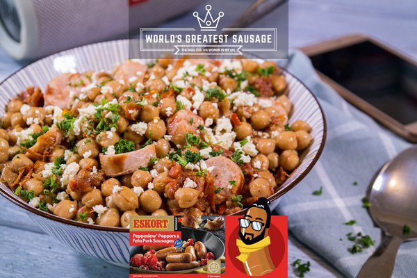 Warm Spiced Chickpea Salad