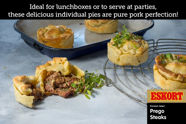 Spiced Pork and Onion Pies