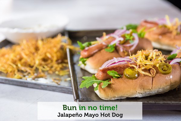Jalapeño Mayo Hot Dog