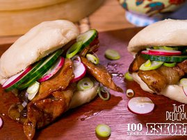 #JustDelicious Bacon Steamed Buns