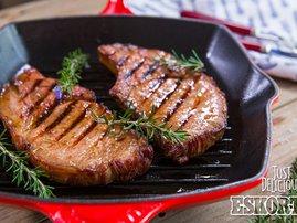 Sticky Sweet & Sour Pork Chops