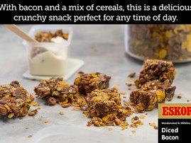 Snack Attack Bacon Cereal Bars