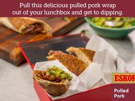 Pulled Pork Wrap & Avocado Dip
