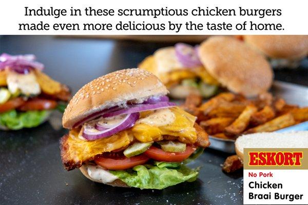 No-more-takeaways Chicken Burger