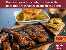 Braaied Spare Ribs with Crispy Golden Potatoes
