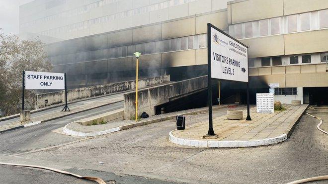 No working fire hydrants at Charlotte Maxeke - Fire Operations SA