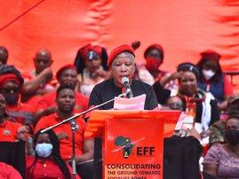 Julius Malema delivers EFF election manifesto September 26 2021
