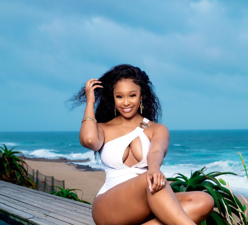 Minnie Dlamini nude Instagram post