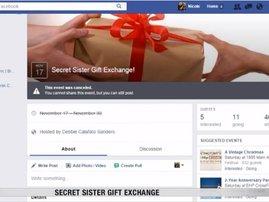 Facebook Sister Gift Exchange Scam