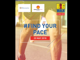 ECB big walk
