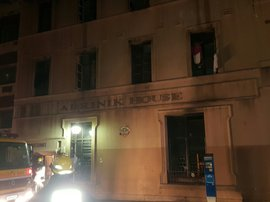 Three hurt after fire breaks out in Durban CBD building