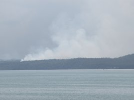 Fire Fraser Island inferno