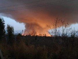 PMB landfill fire