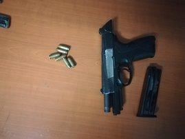 Illegal firearms seized in Gauteng May 2021