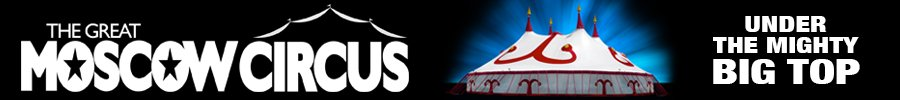 moscow circus banner