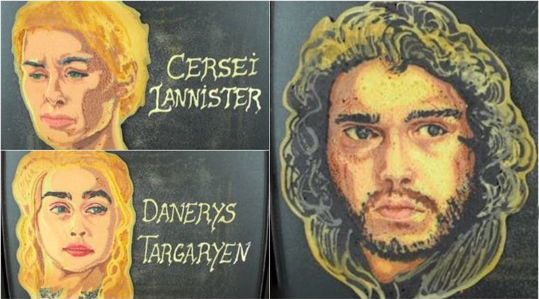 Make Your Own Game Of Thrones Pancakes