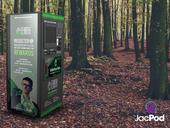 Imagined Earth reverse vending machine