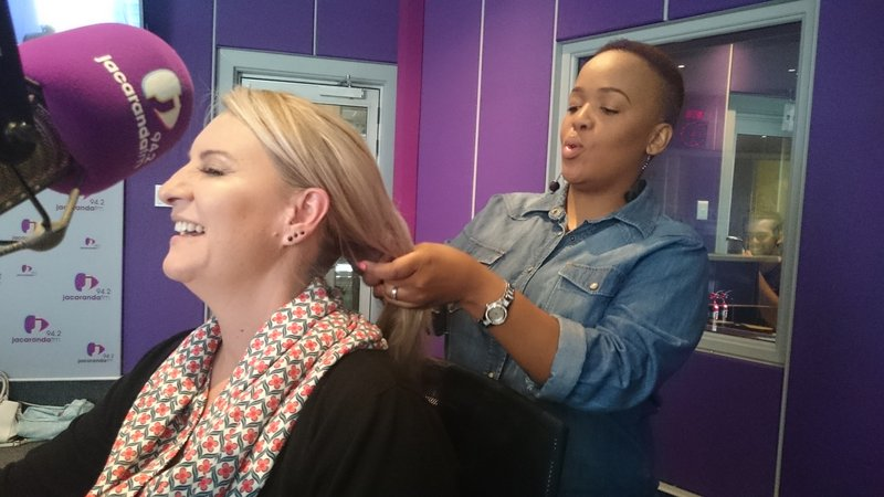 Is Tumi Morake a hairdresser now?