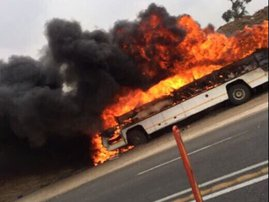 Bus fire - Netcare911
