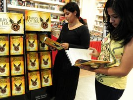 NEW HARRY POTTER BOOK SELLS OUT IN MINUTES