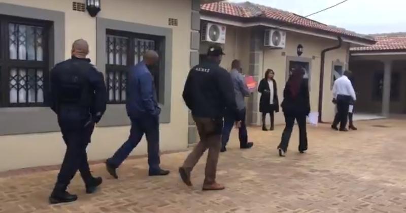 Zandile Gumede Home Hawks raid
