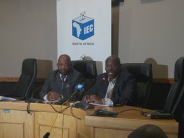 IEC briefing - Nquthu elections
