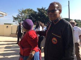 IFP's Mangosuthu Buthelezi leads walkabout in Umlazi