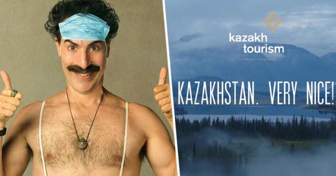 Kazakhstan Borat