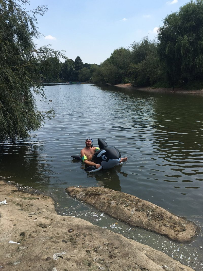 Maljan Searches For The Perfect Place To Swim In Gauteng