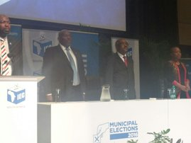 Final election results revealed at Durban ICC
