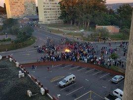 Protests erupts in Sydenham
