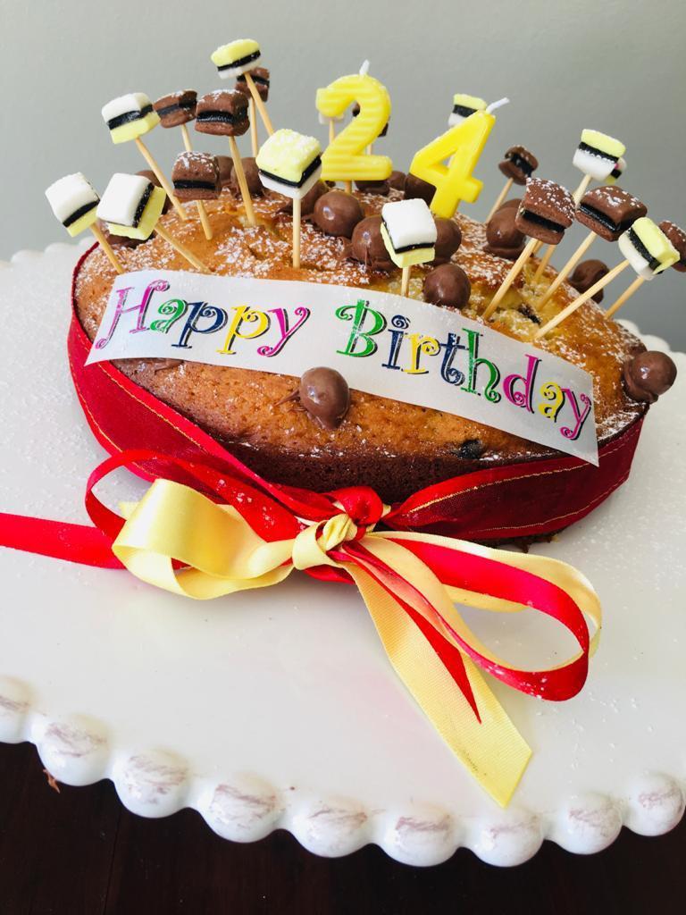Darren's cake