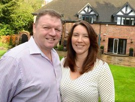 Sharon and Nigel lottery
