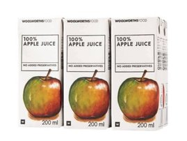 Woolworths recall juice