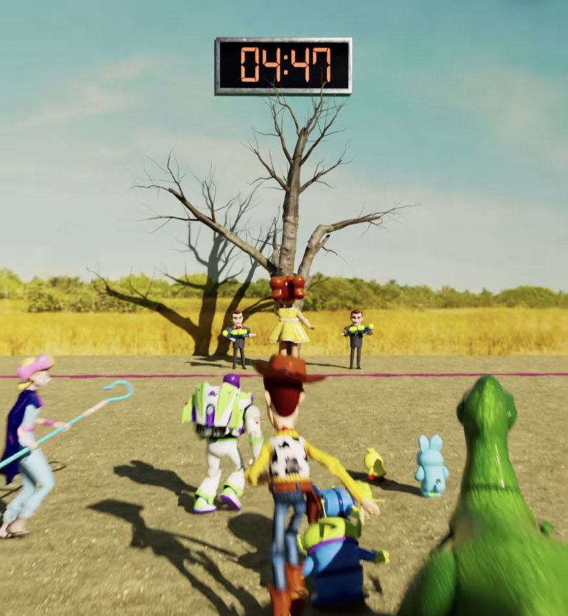 Squid Game X Toy Story