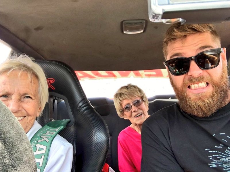 Maljan takes a scary ride with the elderly