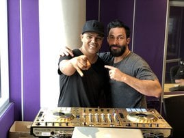 DJ Jazzy D and Martin Bester/Supplied