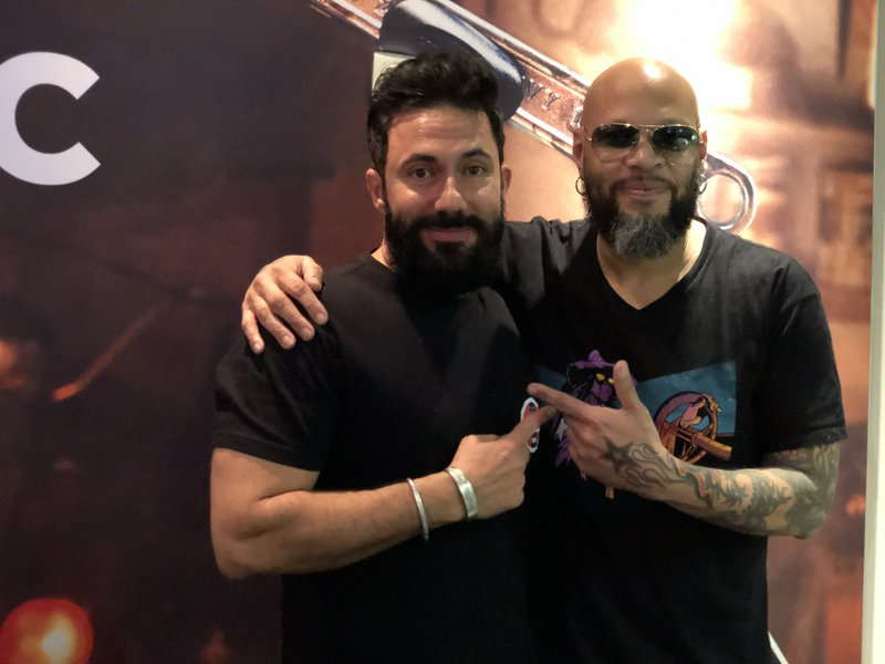 Martin Bester and Frank Ferrer
