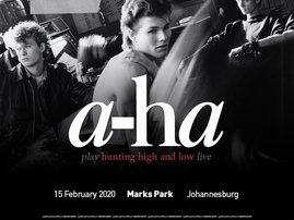 Legendary band a-ha announces their first South African tour since 1994