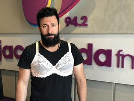 The great bra debate with Martin Bester