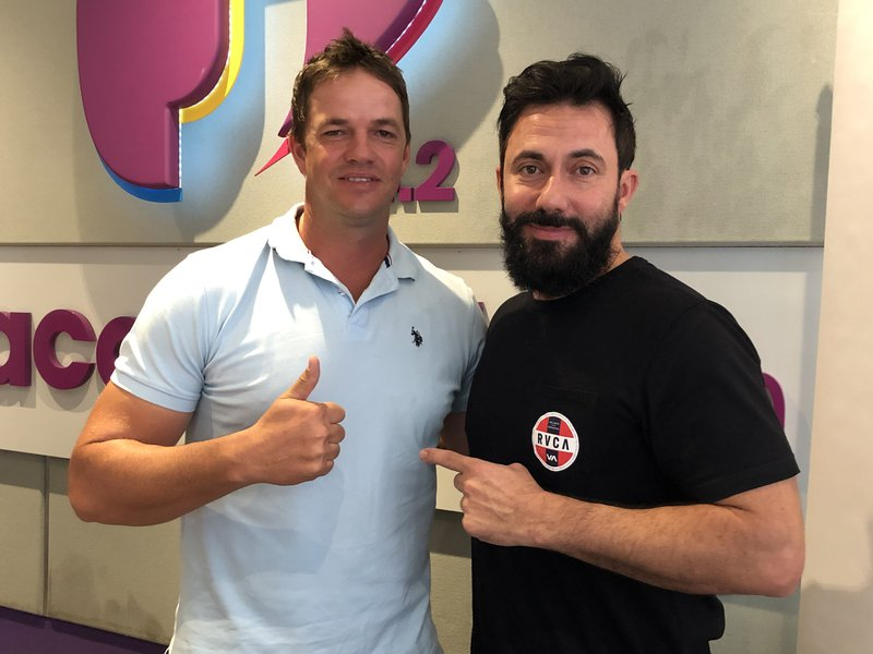 Martin Bester and Albie Morkel